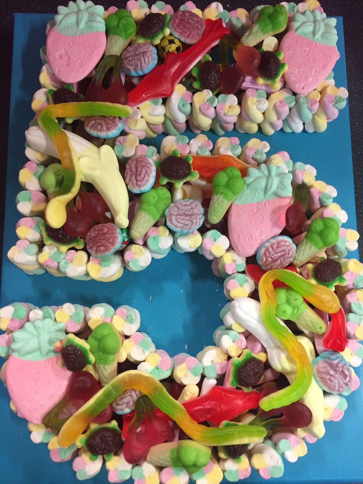 Single Digit Sweet Cakes Party Sweet Cones